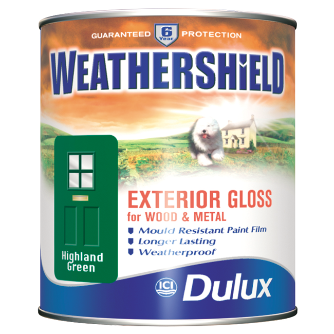 Dulux weathershield quick drying gloss kis uk - Weathershield exterior paint system ...
