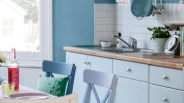Kitchen Blue