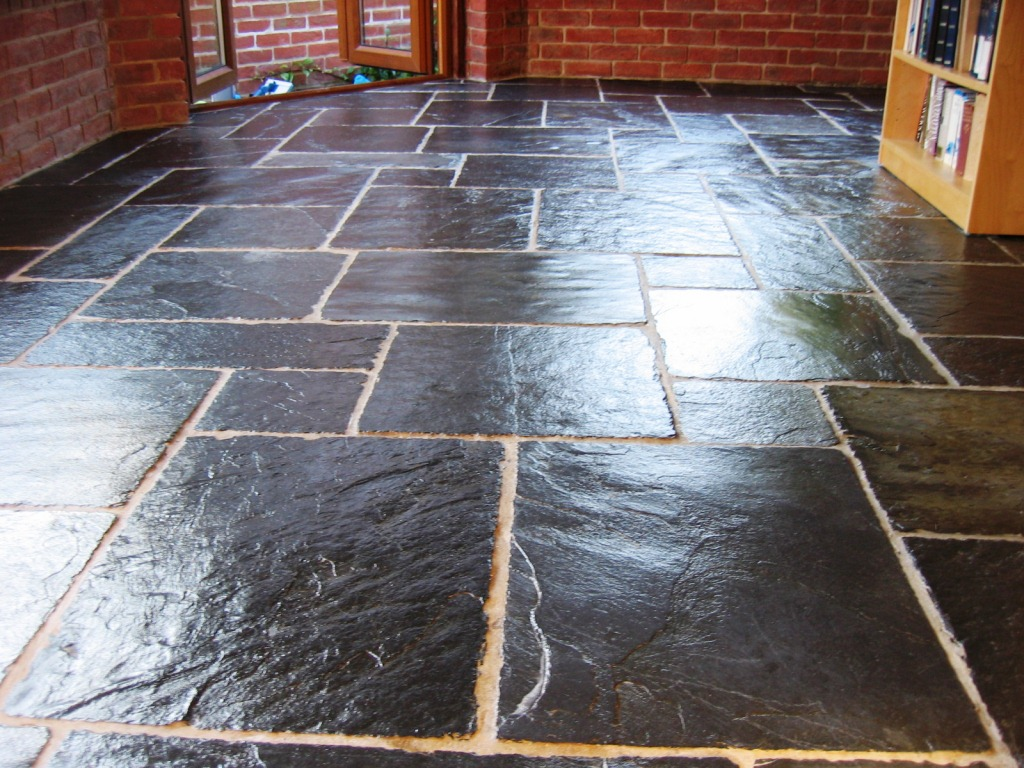 How to seal slate floor tiles images home flooring design sealing slate floor tiles choice image home flooring design stone floor sealant ourcozycatcottage liberon stone floor dailygadgetfo Image collections